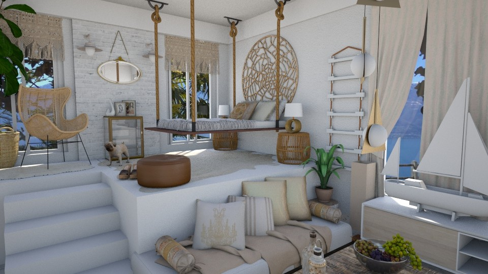 Simple is marvelous - Bedroom - by bigmama14
