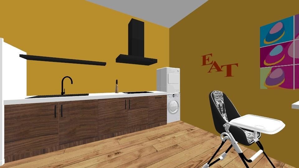 1003 - Kitchen - by LeLebear