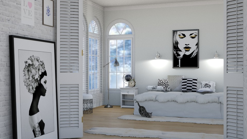 White Bedroom_3 - by abbyt94