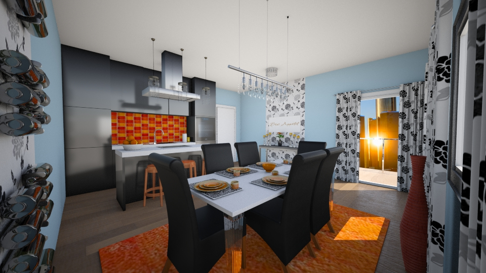 Kiev dining - Kitchen - by seldina