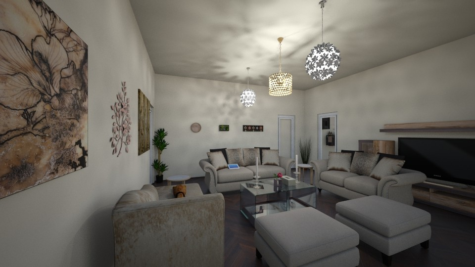 my home - Classic - Living room - by RollPinkEra