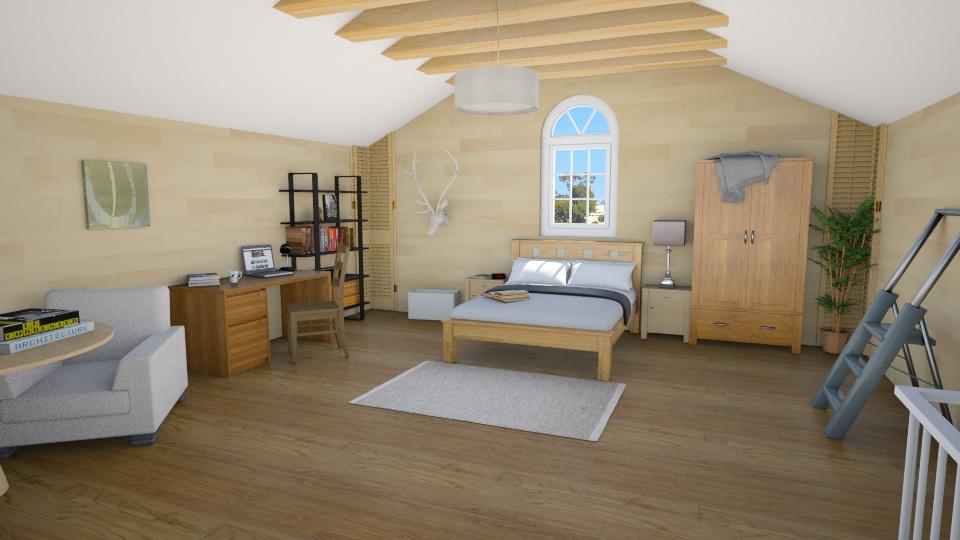 Attic Loft - Classic - Bedroom - by Mythrintia