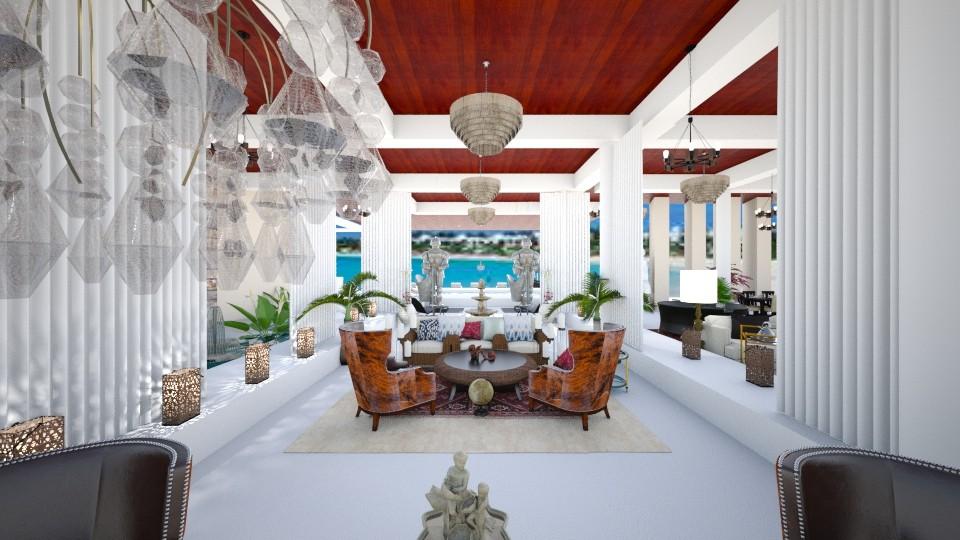 PICINA DUBAI  H1 - Living room - by sami1968