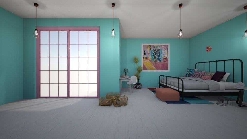 Henri Matisse inspired - Feminine - Bedroom - by Evie11