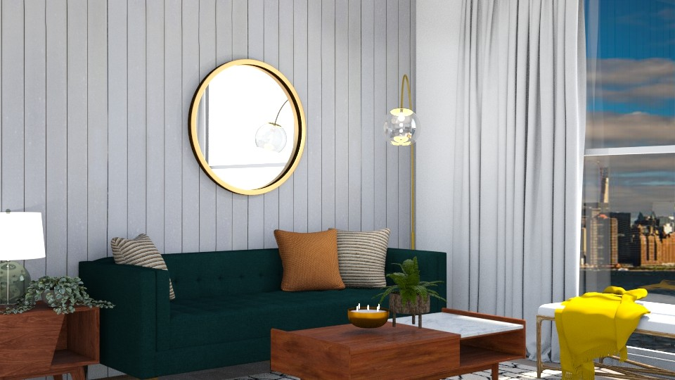 keepin it green - Modern - Living room - by molly_designs