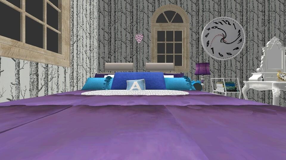 Alice In Wonderland Theme - Bedroom - by UniqueHatter