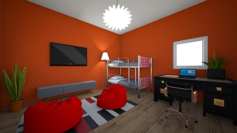 Alex Bedroom - Bedroom  - by Ellie DeSmith