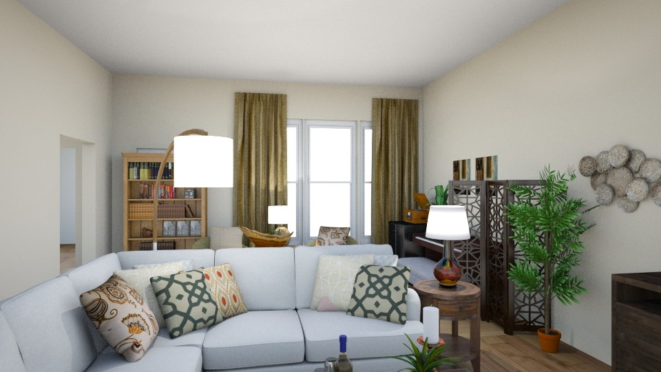 Payne living area - Living room - by Jeanie Jones