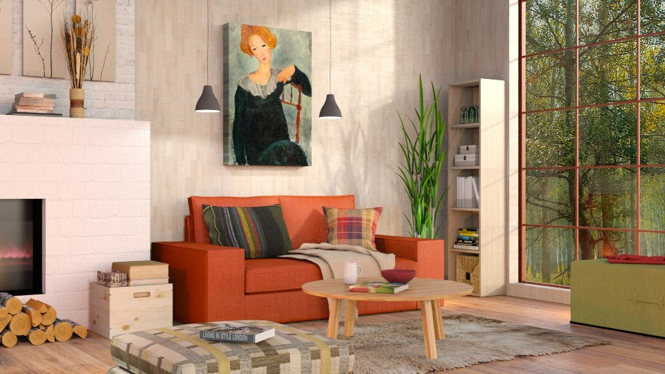 Autumn - Modern - Living room - by Sally Simpson