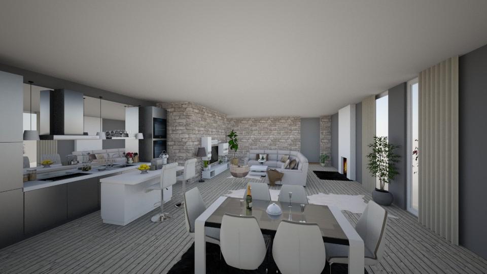 b - Living room - by veki