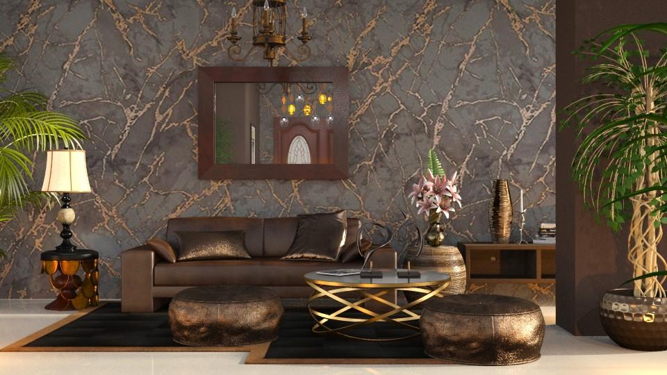 Metallic brown - by ZsuzsannaCs