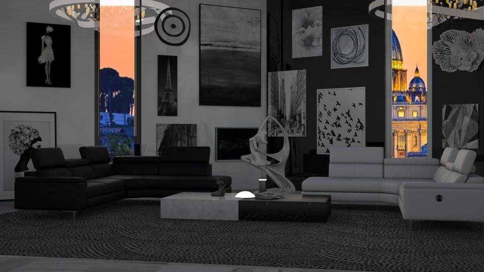 Contrast - Living room  - by JoyG23