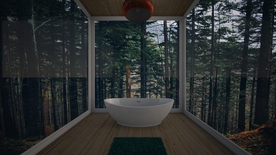 bathroom - by nazlazzhra