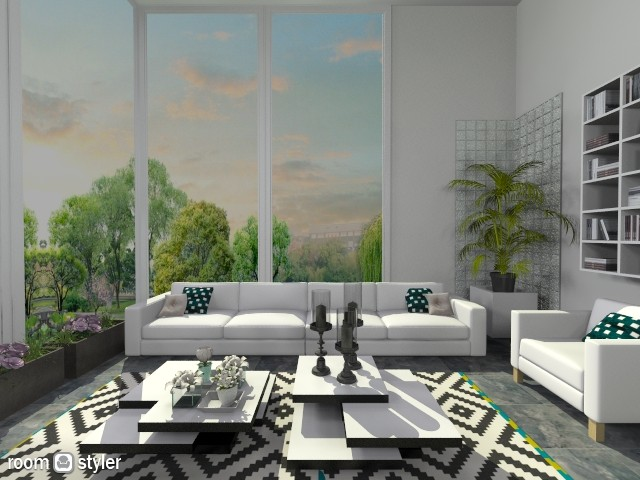 Cubic - Living room - by Rose Marie
