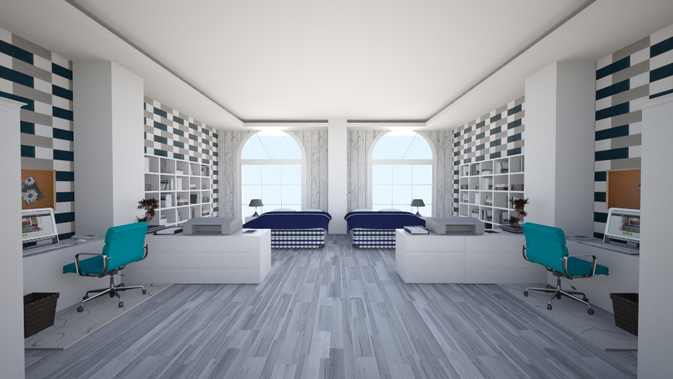 Hastens StudentDorm - Bedroom - by Gre_Taa