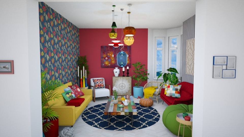 Maxi is more - Living room - by SophieFrog