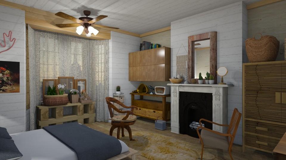 Woody world - Bedroom - by Tree Nut
