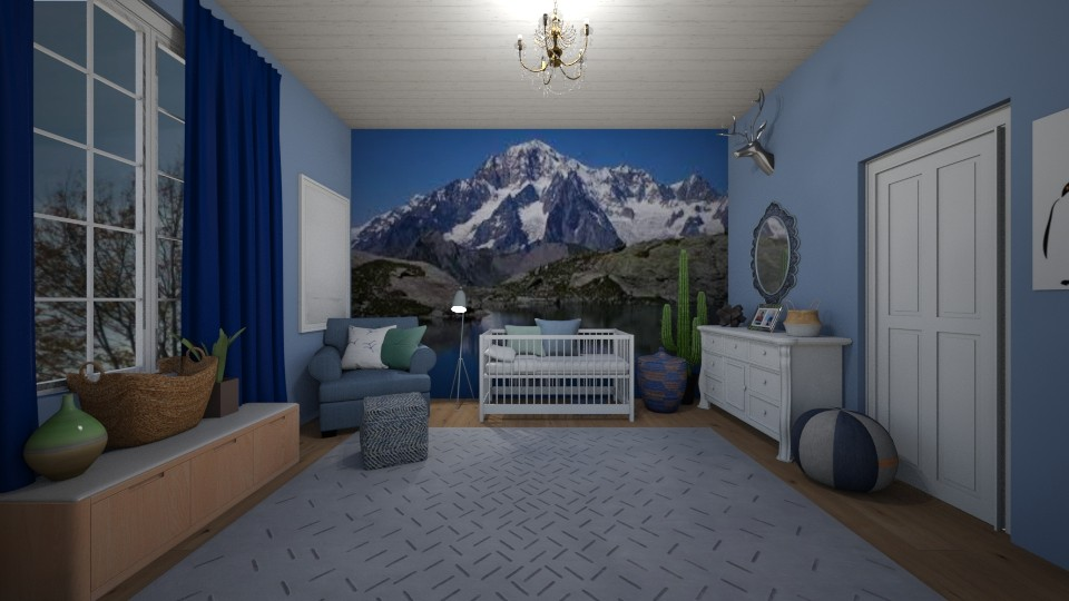 pinky - Kids room - by dena15