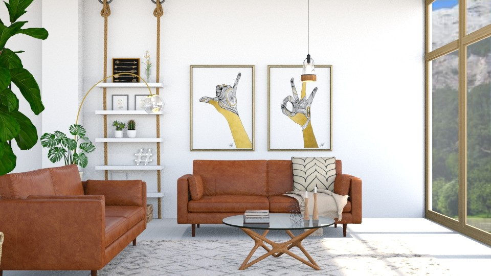 Mid Century Modern  - Living room - by serenellc27