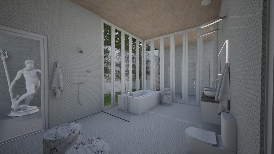 Polished Retreat - Bathroom  - by DecoMaster5