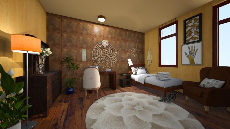 bachelors retreat - Rustic - Living room  - by harshada samant