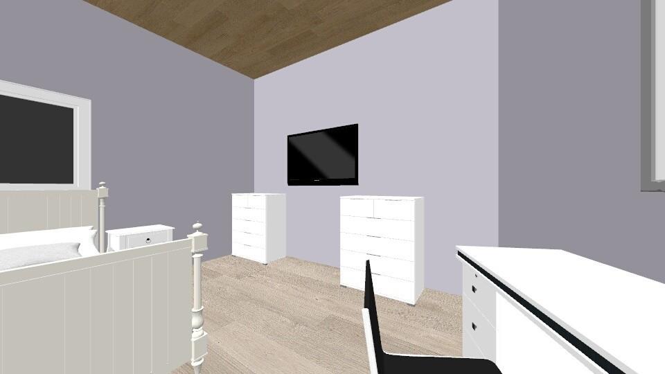 mitt rom - Bedroom - by MilleCH