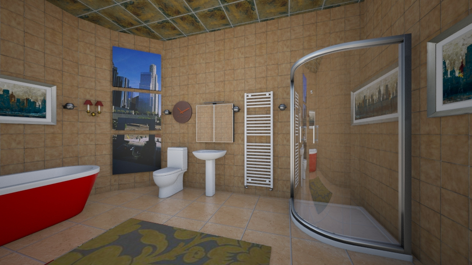 Modern Bathroom - Modern - Bathroom - by Alixandria Wolff