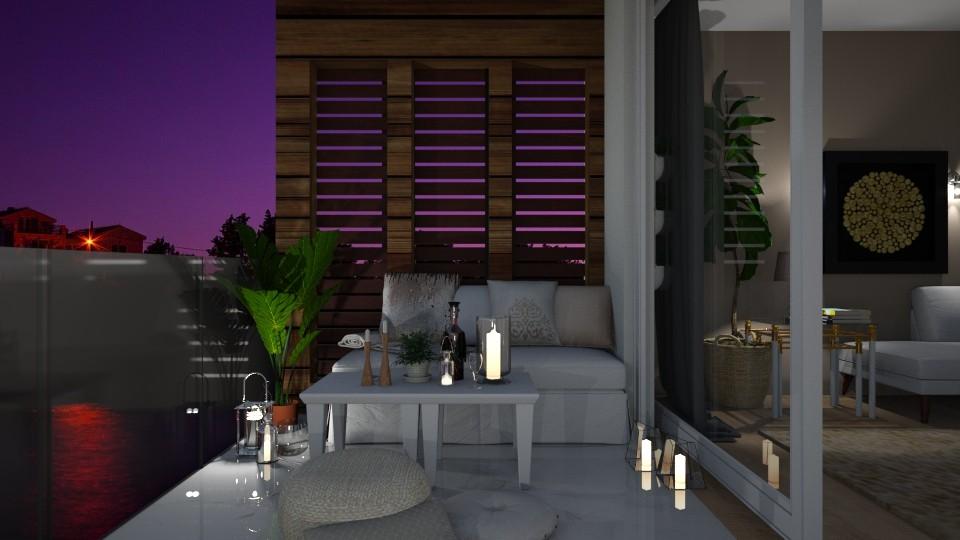 balcony - by Mihailovikj Mimi