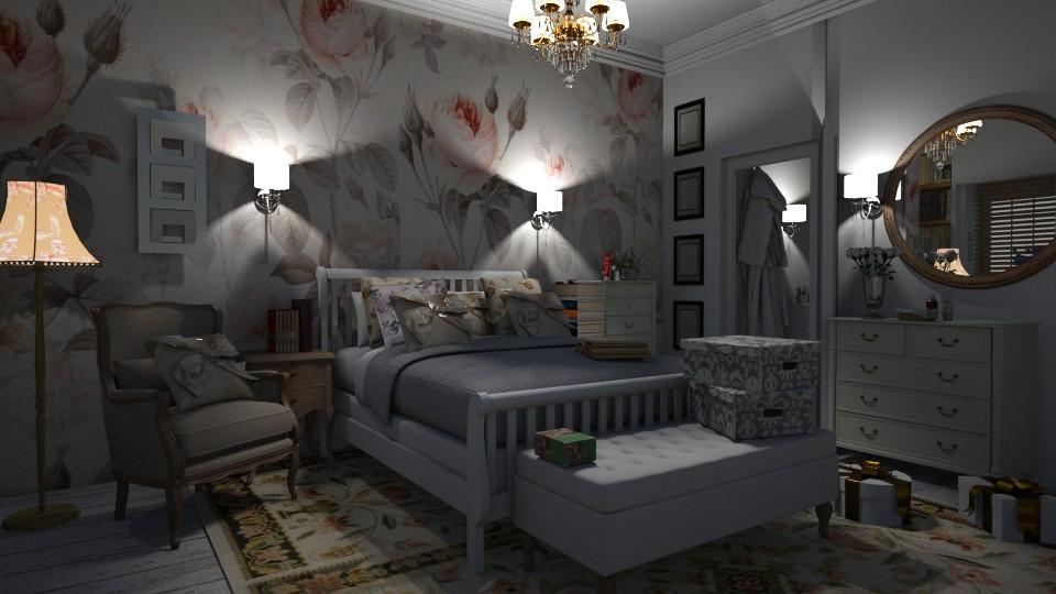 Asher - Bedroom  - by Evgeniya Sinenko
