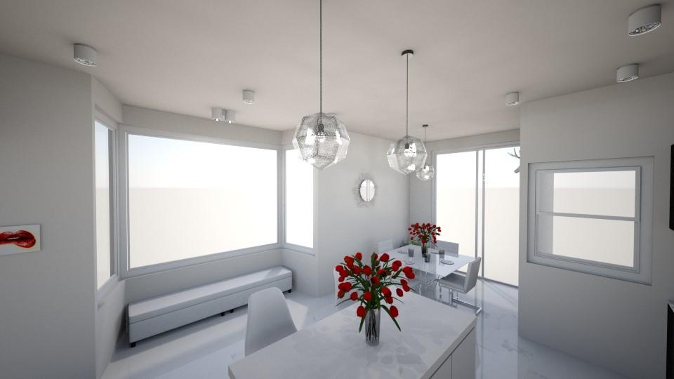 White Rose Kitchen - by EmilyTJ03
