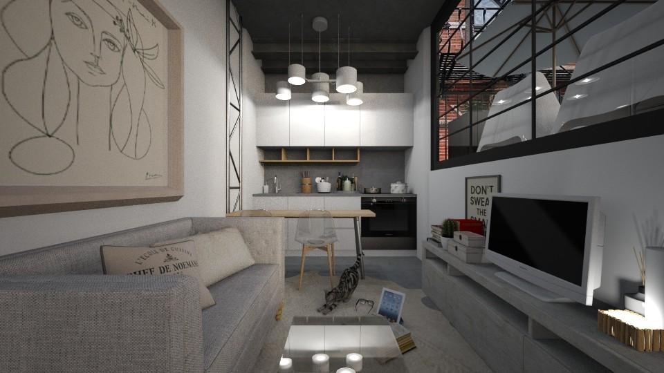 Casa235LivingArea - Feminine - Living room - by nickynunes