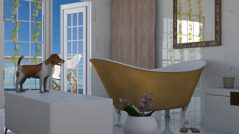 dog bath - Bathroom - by BortikZemec