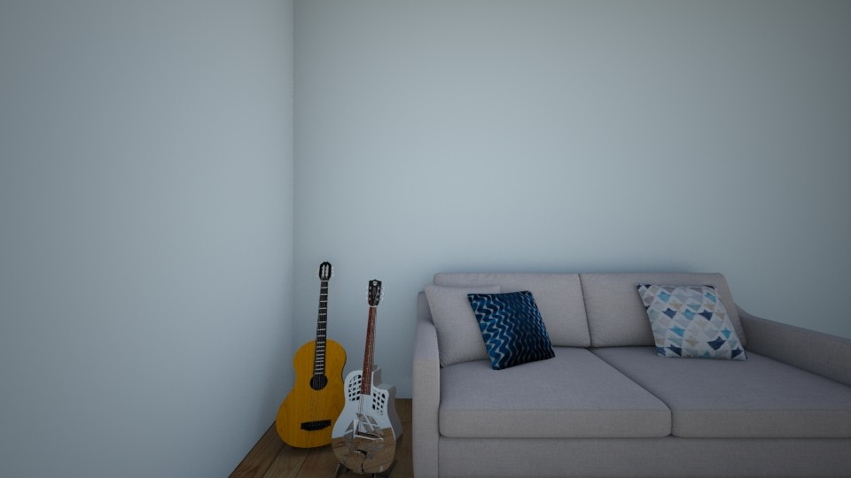love guitars - Bedroom  - by Jessica Baines