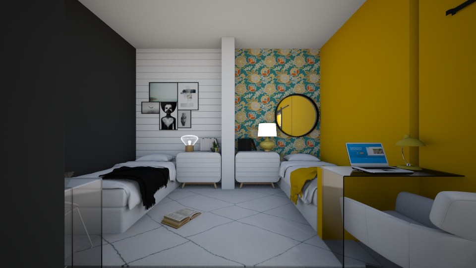 d o r m  r o o m  7 8  - Bedroom  - by Puppies44