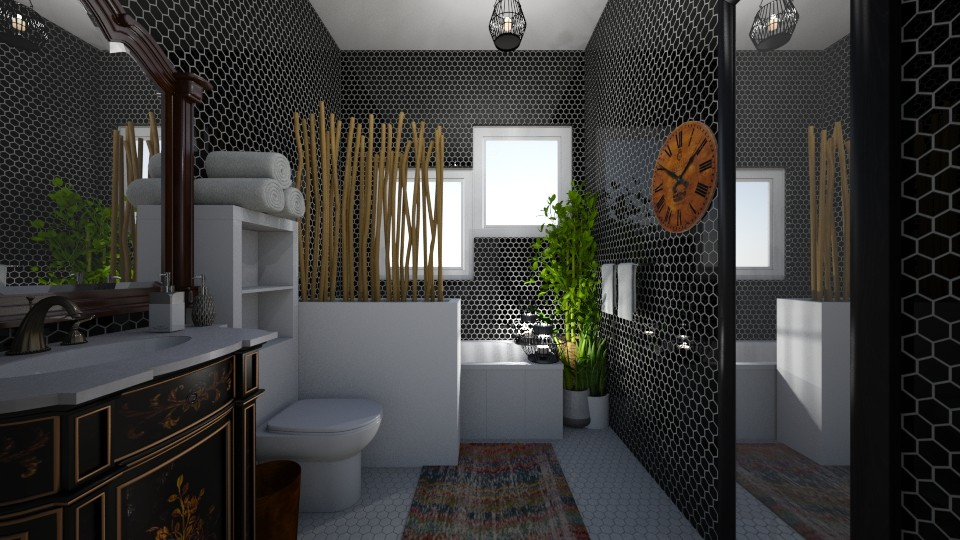bohemian Bathroom - Bathroom - by SDFDesigns