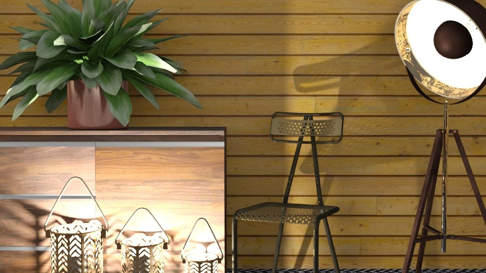 sala nova de madeira2 - Living room - by yyyyy