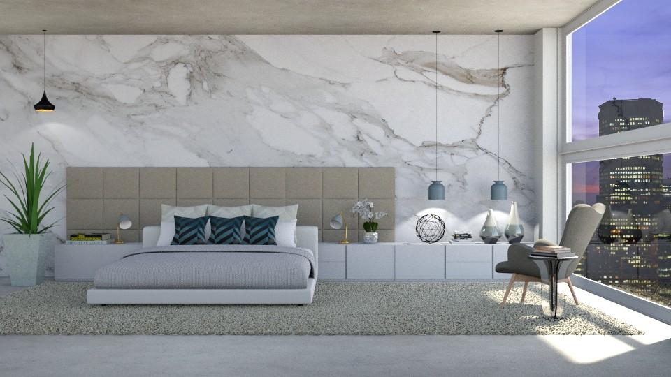 Modern - Bedroom - by MeSisilia