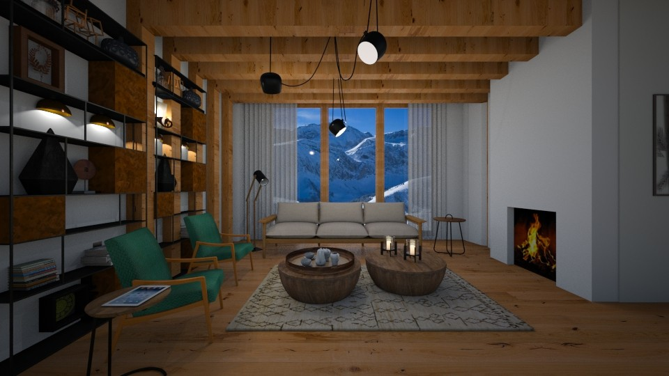 WBA apartment - Living room - by liling