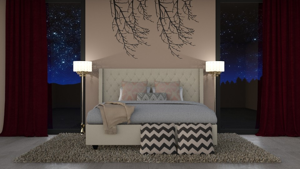 Symmetry Design - Modern - Bedroom - by oliinree12