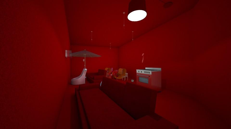 Red Stuff  - by fuzzybunny