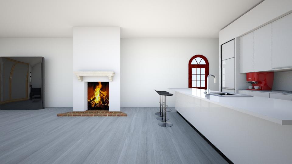 blackgrey - Classic - Living room - by unicornofsky
