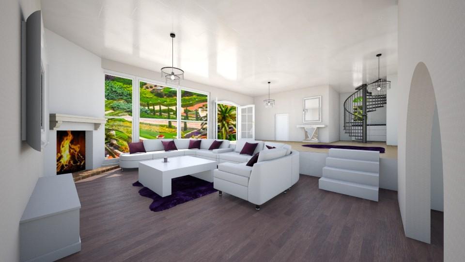 E K imaginary kitchen - Modern - Living room - by FatijonaF