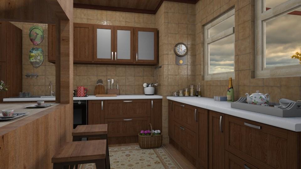 Before rain - Vintage - Kitchen - by ljiljanan