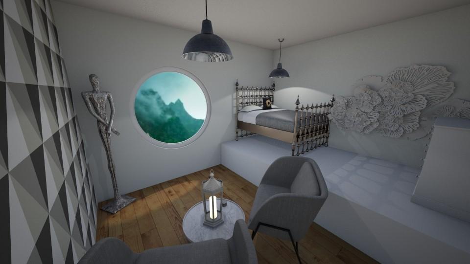 Attic Top - Bedroom - by nicolaswiggins