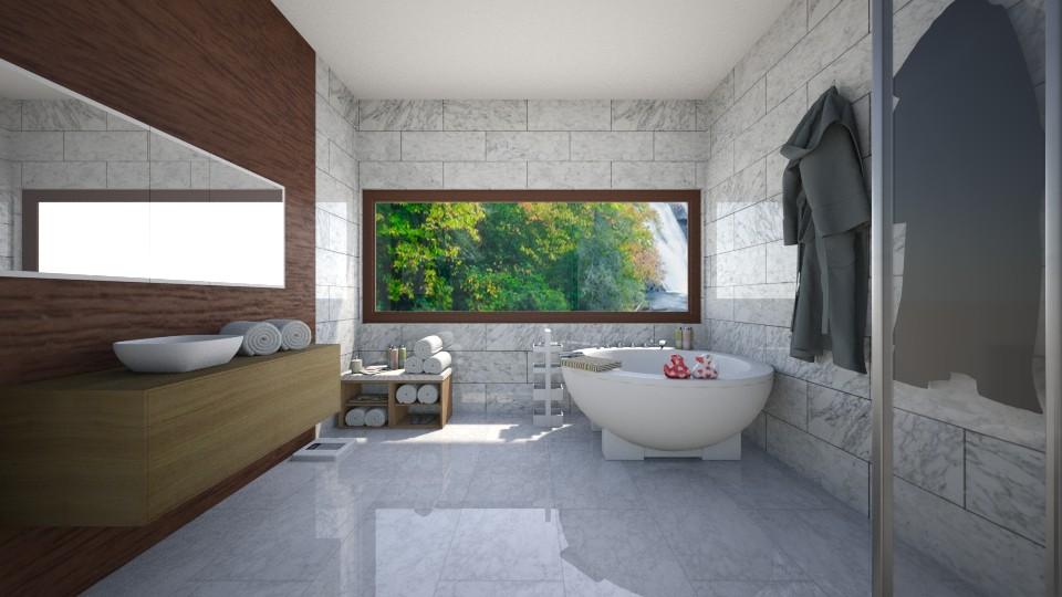 Marble  - Bathroom - by Cheyenne Stephenson_339