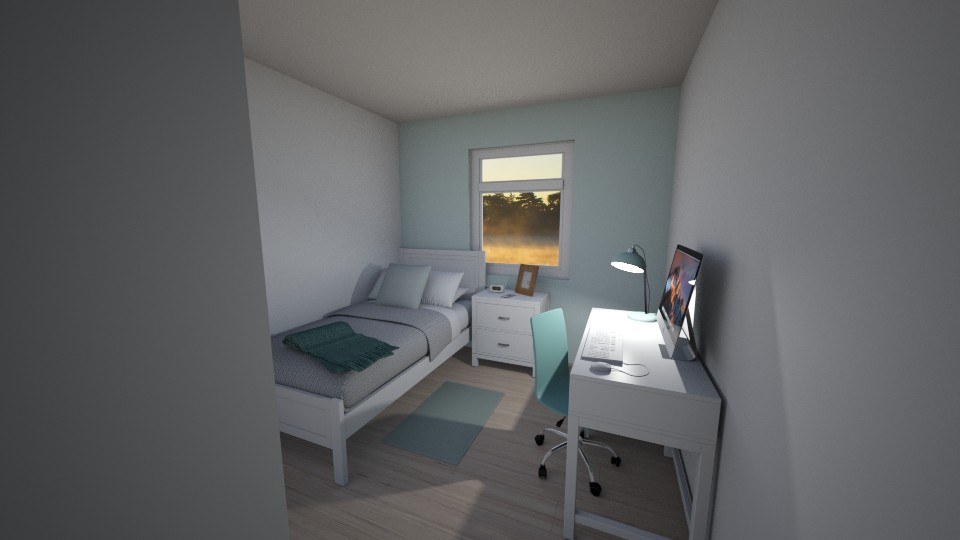 Room design_Mint - by TheONE_Rose