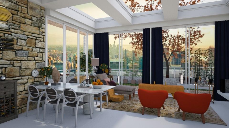 En plein air - Living room - by svetlysveva