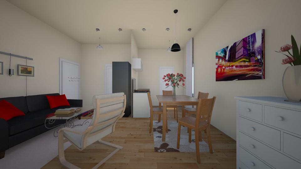 cinka panna terv04 - Living room - by csiszkrisz