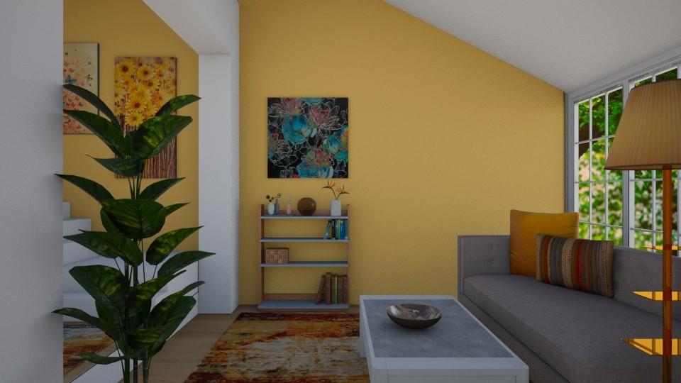 Sitting corner - Living room - by Ana Angela