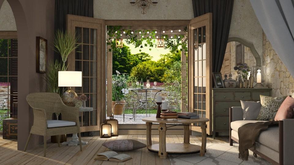 Provencal Garden - Garden - by Mandine